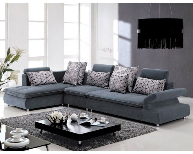 Attractive Best Fabric Sectional Sofa #13 - Best Fabric Sectional Sofas
