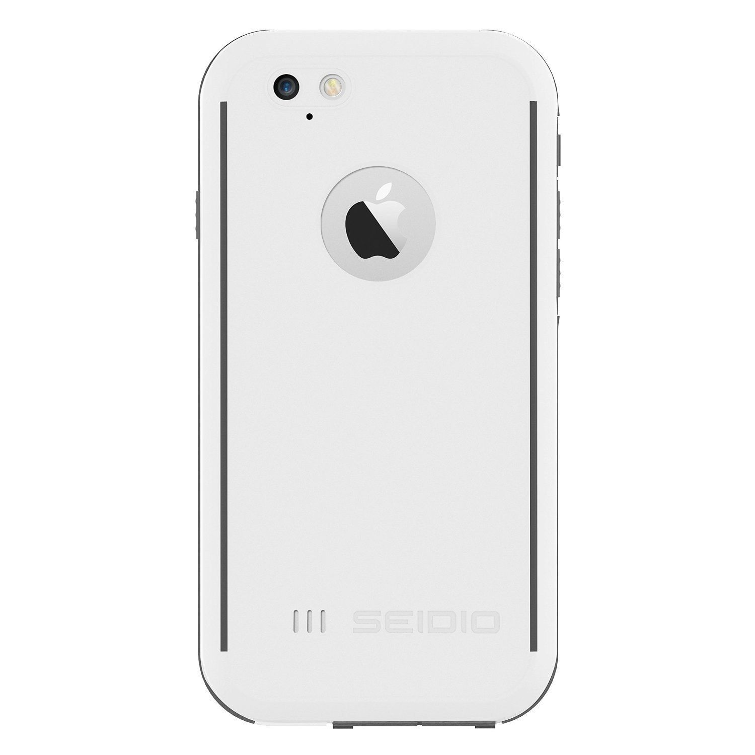 Seidio iPhone 6/6s OBEX Waterproof Case - White / Grey