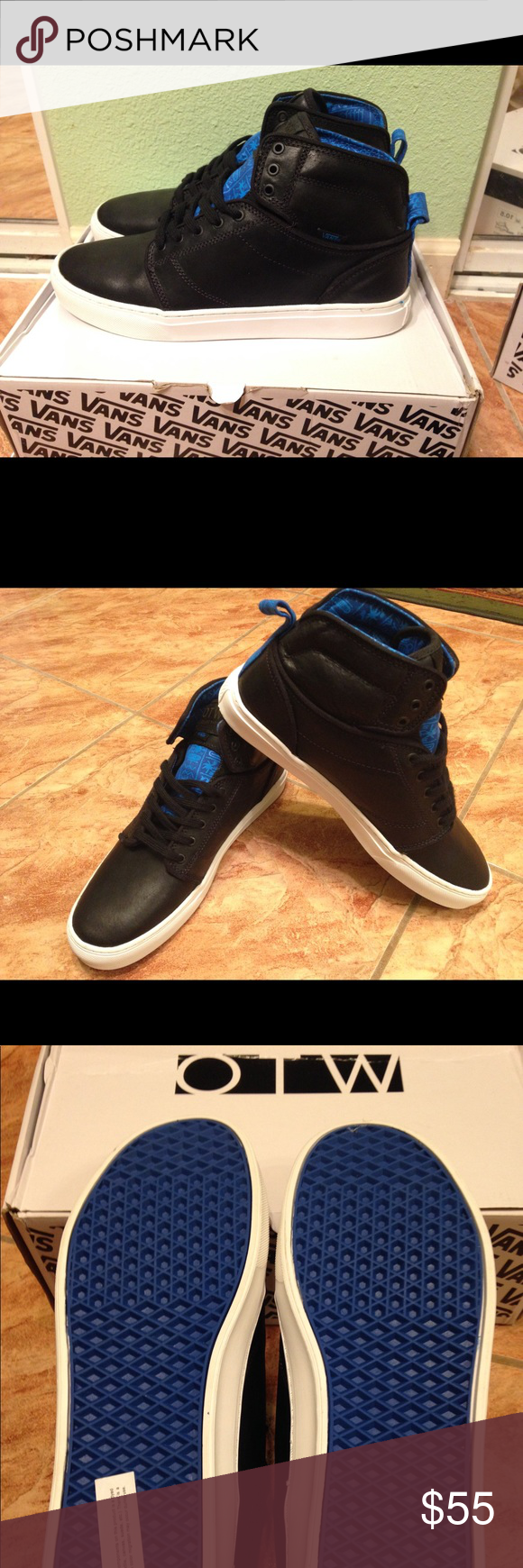 248cda41c6 New Vans Alomar Black OTW Men s Shoes Men s 11.5 New Vans Alomar (Tribes) Black  OTW Collection Men s Skate Shoes Men s 11.5 Vans Shoes Sneakers