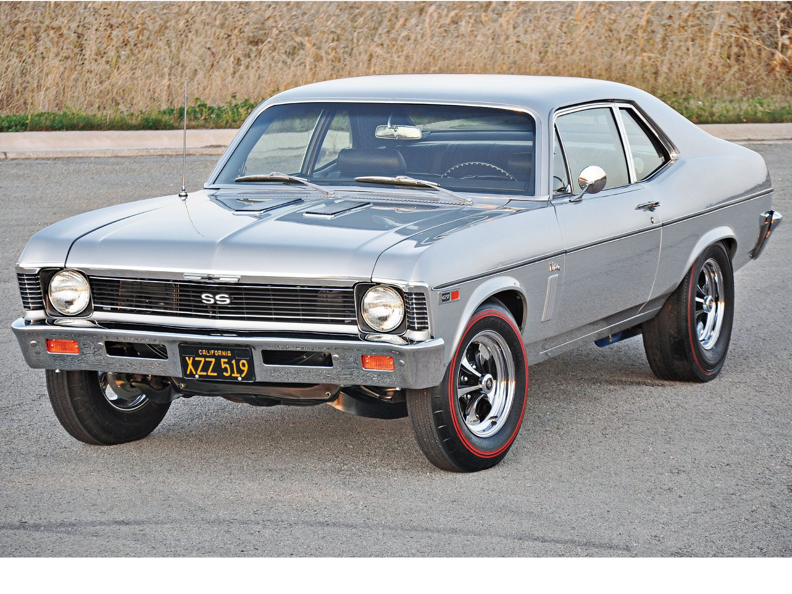 1969 Chevy Nova SS 427. Yep! Pretty sure I broke the motor mounts ...