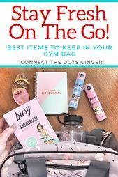 Photo of What's In My Gym Bag? Favorite Items To Fill My Travel Bag On The Go Connect th…