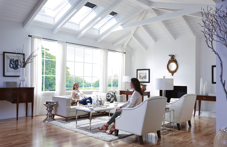 Hire The Sun As Your Interior Decorator In 2020 Home Skylight Elegant Kitchens