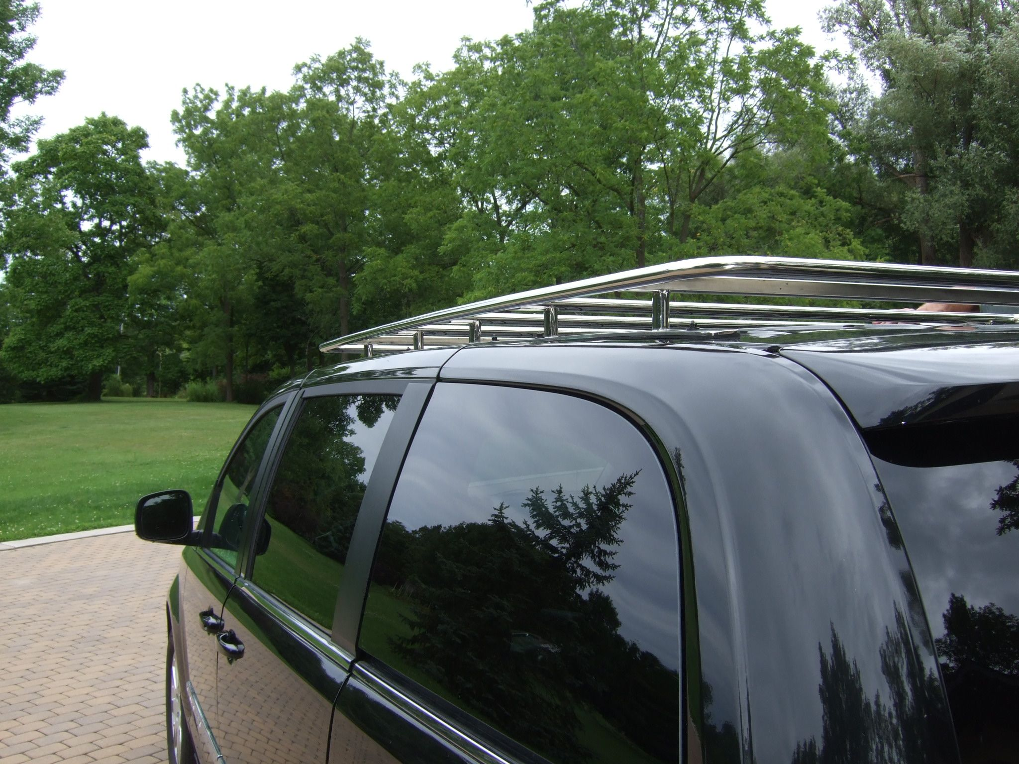 Custom Stainless Steel Van Roof Rack Chrysler Town Country
