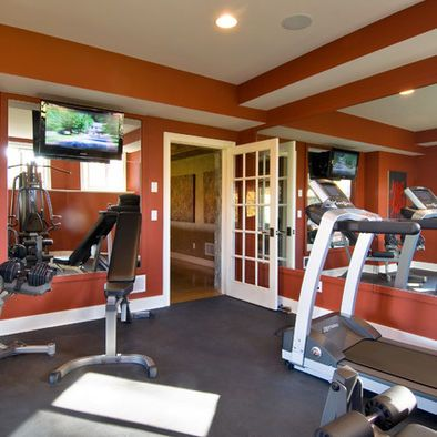 basement exercise rooms design pictures remodel decor