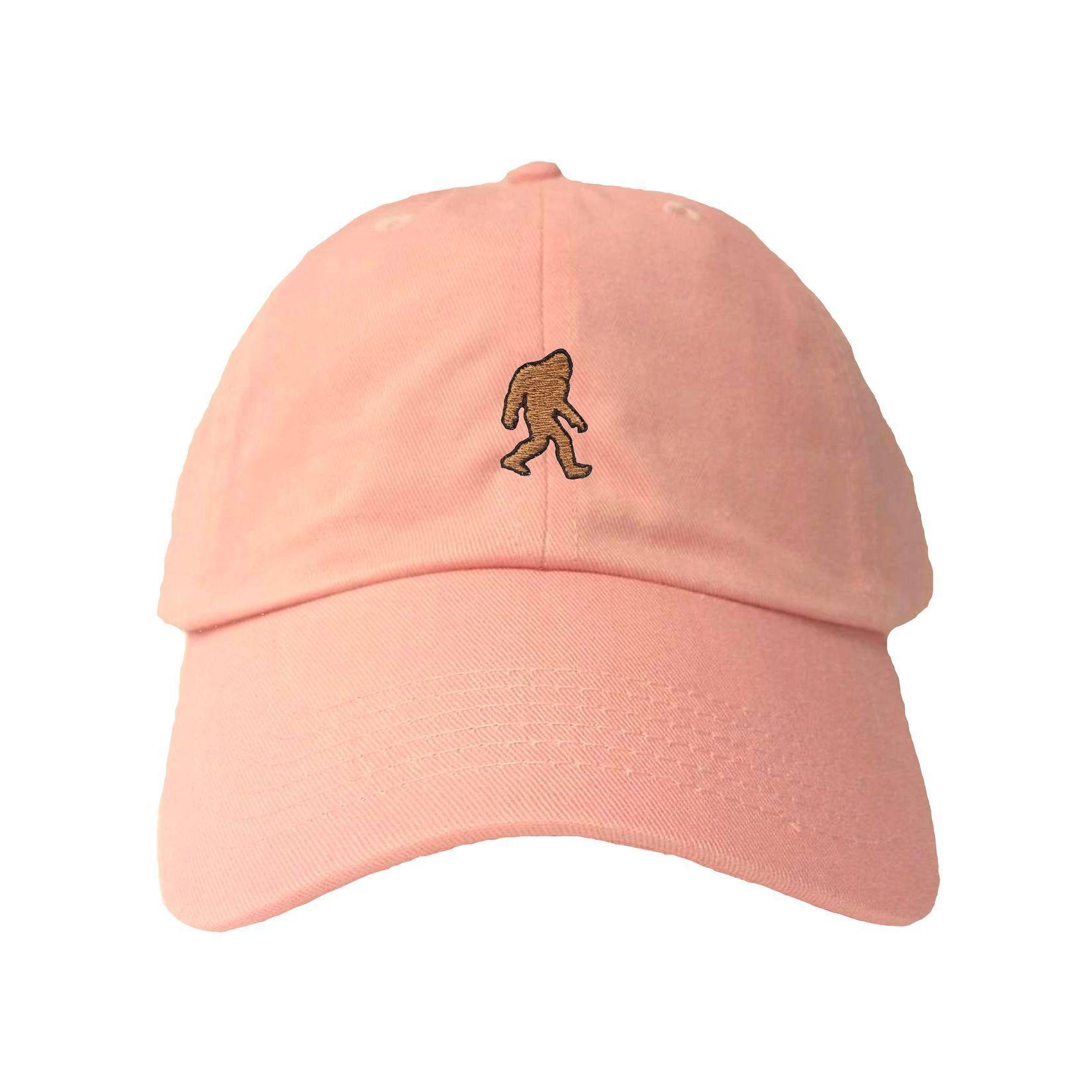 Adult Bigfoot Sasquatch Embroidered Dad Hat Cap 9daa7924592