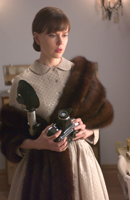 Nicole Kidman as Diane Arbus in Fur: An Imaginary Portrait of Diane Arbus (2006).
