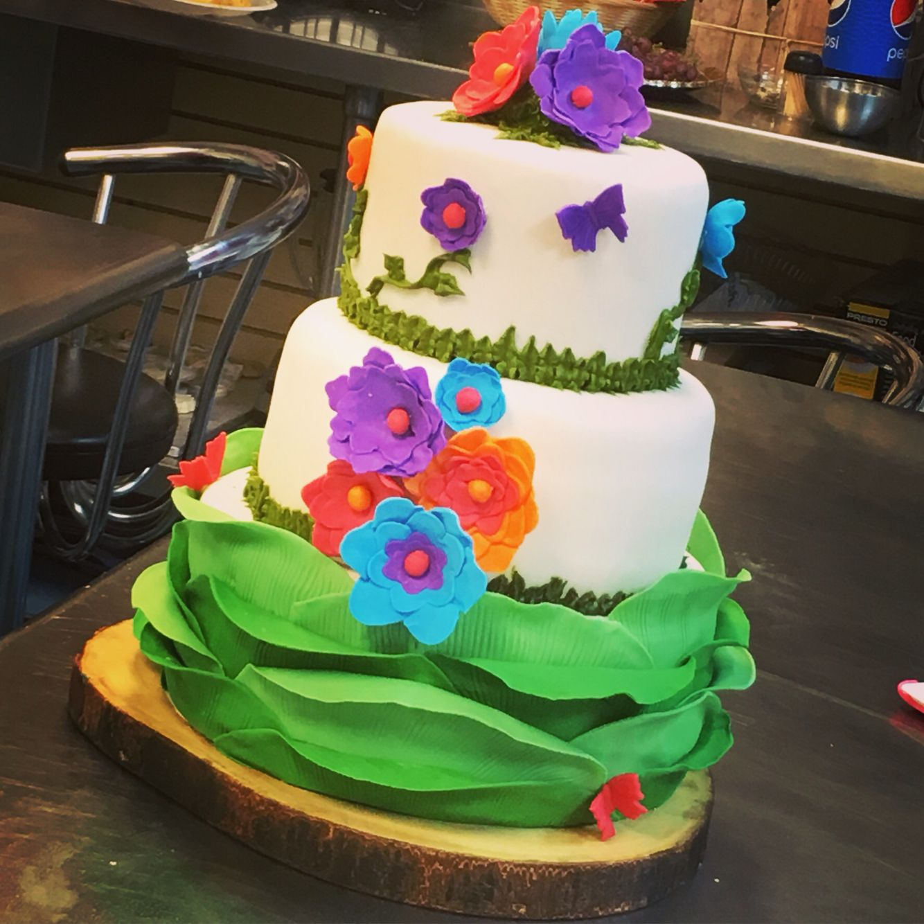 Feeling aruba cake inspiration ivettes nutty kitchen