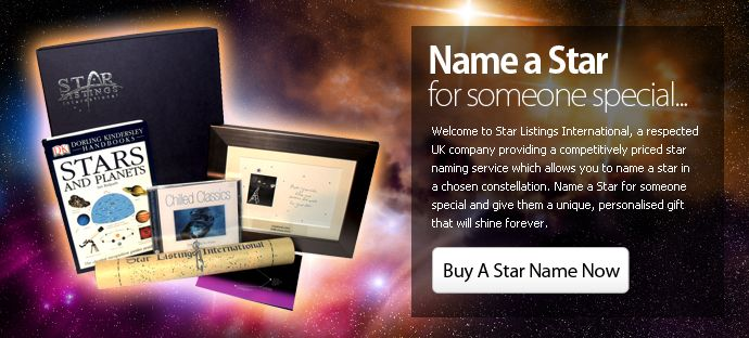 When You Wish Upon a Star - Name A Star with Star Listings ...
