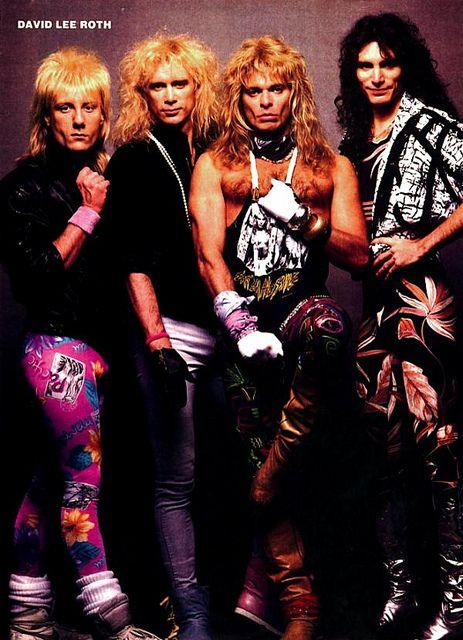 David Lee Roth Band 1986 David Lee Roth David Lee Hair Metal Bands