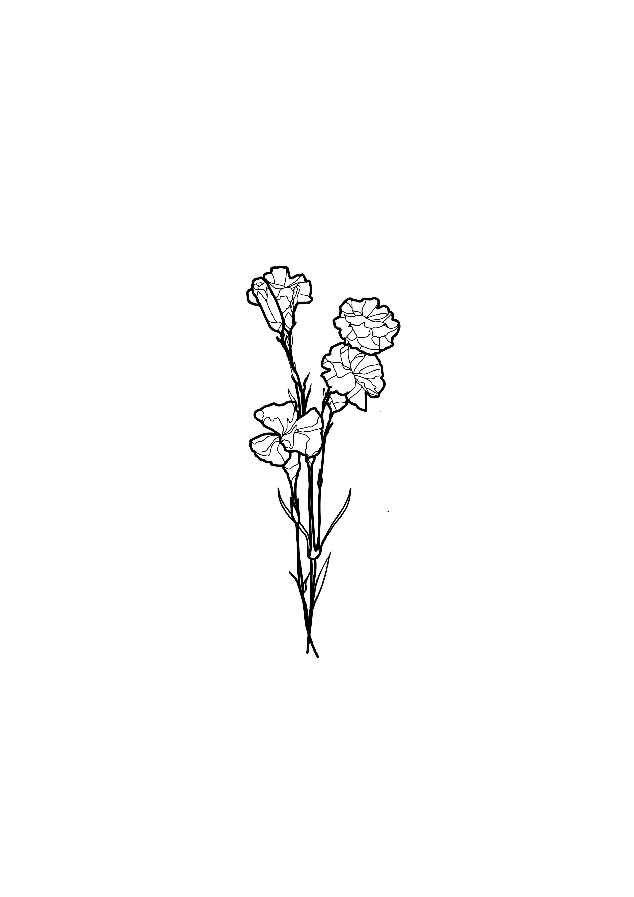Simple Flower Tattoo Design Rose Tattoos Rose Tattoos For Men Simple Flower Tattoo