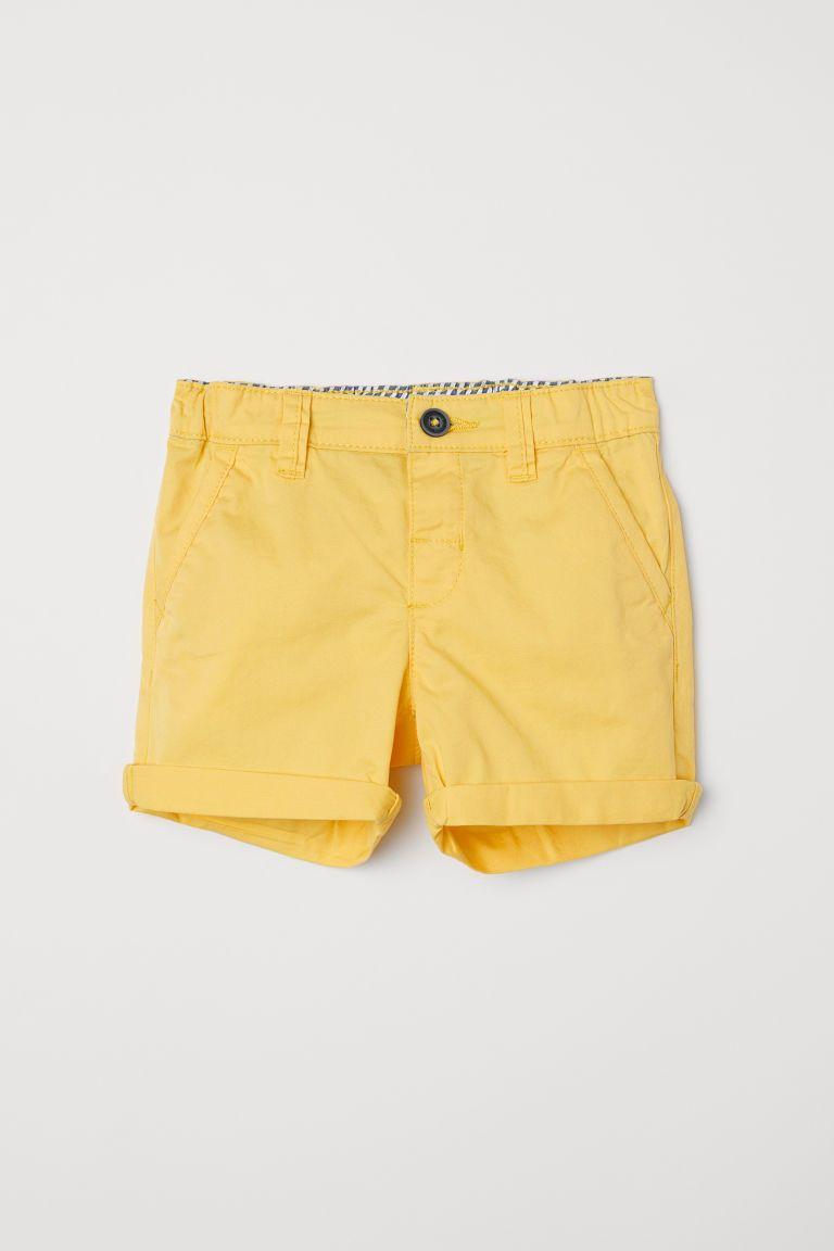 b10b3af82a0 Cotton twill shorts | Lavender Photoshoot | Kids shorts, H&m shorts ...