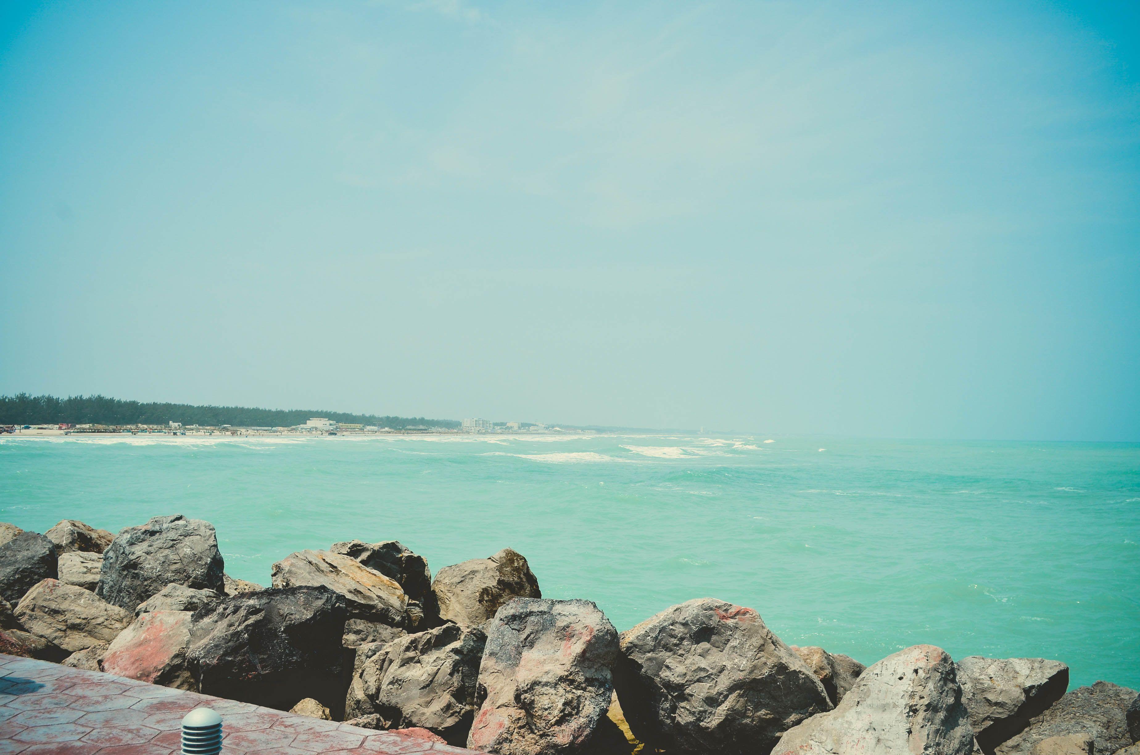 panorámica de playa Miramar