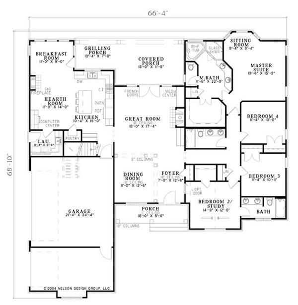 European Traditional Arts And Crafts House Plans Home Design Ndg 942 9226 New House Plans Ranch House Plans House Plans And More