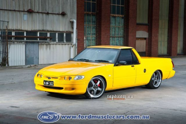 Falcon Show Car 1998 Xh Xr8 Ute Late Model Car Ford Muscle