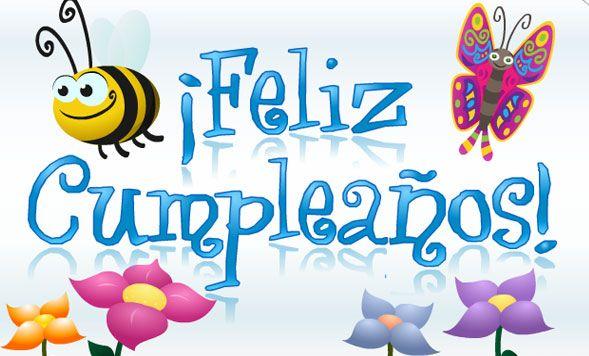 Tarjeta De Feliz Cumpleaños Con Abeja Y Mariposa Tarjetas De Feliz Cumpleaños Tarjetas De Cumpleaños Amiga Postales De Feliz Cumpleaños