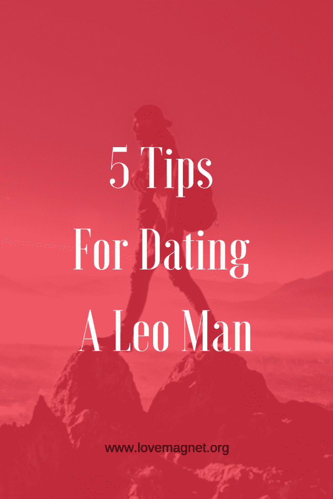 Leo man Dating-Tipps