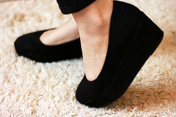 most comfortable platform shoes