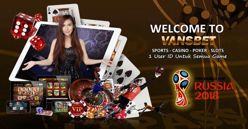 Vansbet Agen Bola Casino Online Poker Slots Live Game Dalam 1 User Id Minimal Deposit Hanya Rp 25 000 Slots Poker Game