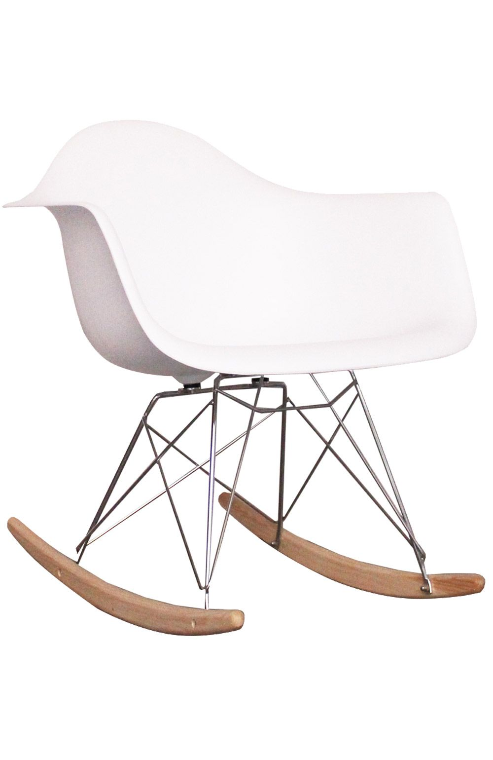 fauteuil à bascule rar | meubles blancs // white furniture ... - Chaise A Bascule Eames