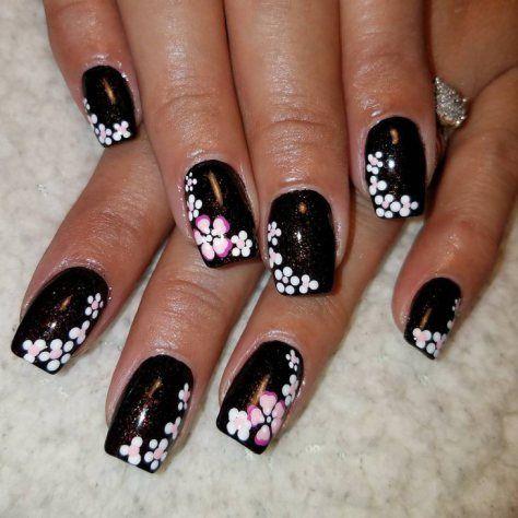 styles of black nail art designs 2018  nail art design