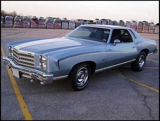 76 Monte Carlo Chevrolet Monte Carlo Chevy Muscle Cars Chevrolet