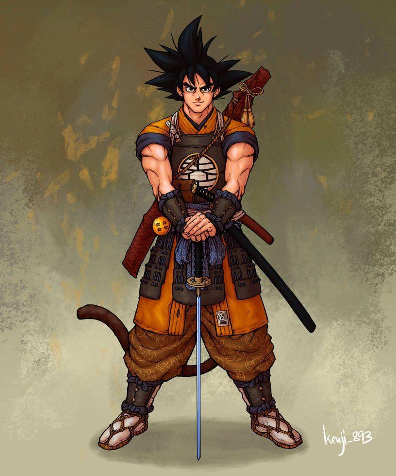 Les personnages de Dragon Ball imaginés en version samouraï - #Ball #de #Dragon #en #imagines #les #personnages #samouraï #version!