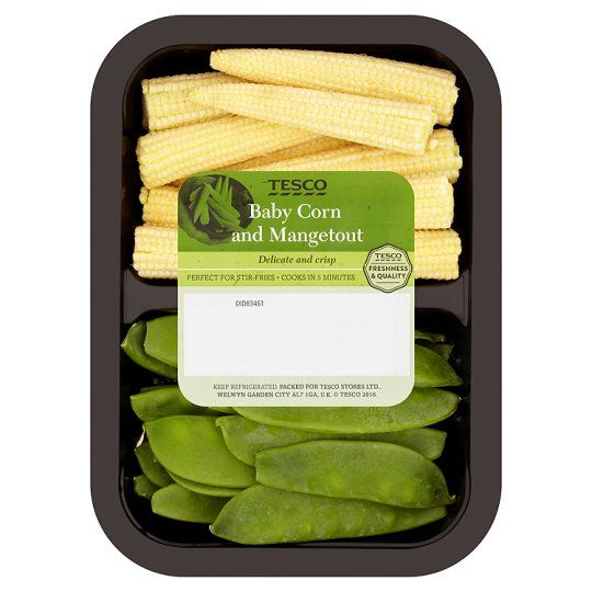 Tesco Babycorn And Mangetout 175g Recovery Food Food Shop Food