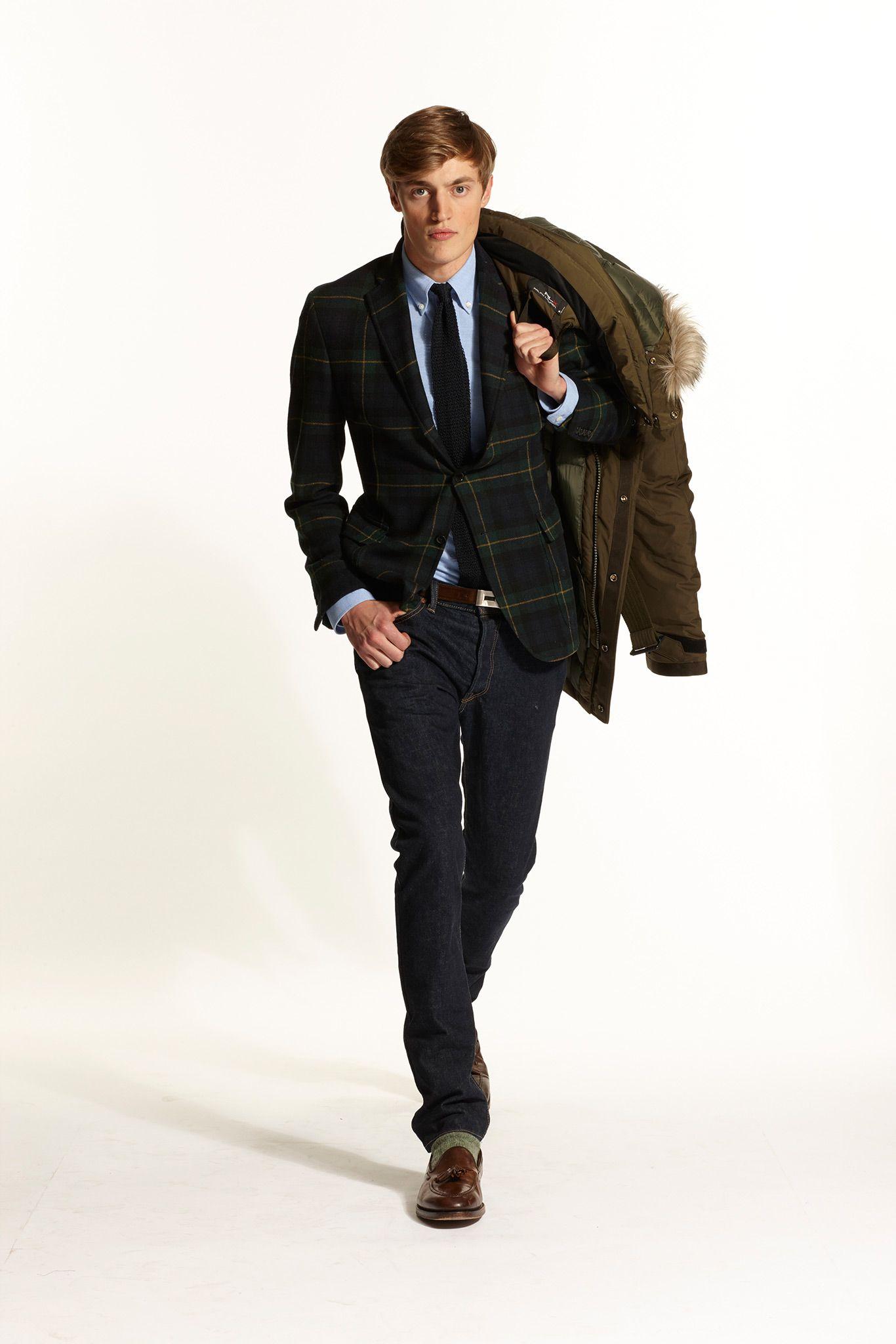 Ralph Lauren - Fall 2015 Menswear - Look 36 of 57