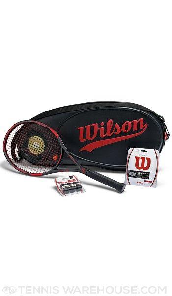 Wilson 100 Year Pro Staff 95 Racquet Set 3 8