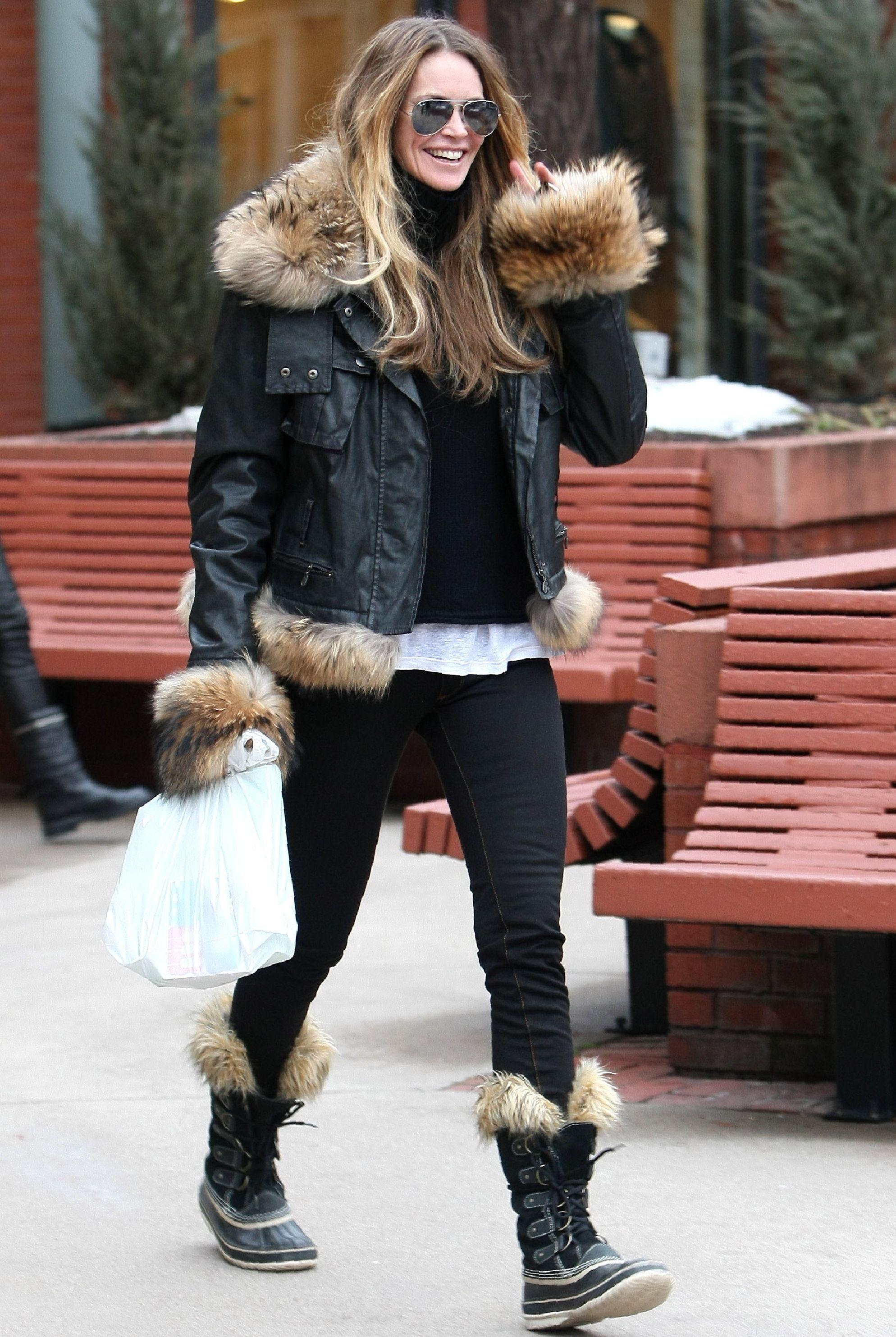 fashion snow boots