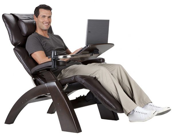 Perfect Chair Pc Laptop Computer Desk Table For The Perfect Zerogravity Chair By Human Touch Computer Table Laptop Table Accessory Table Extending Footrest Perfect Chair Zero Gravity Recliner Chair