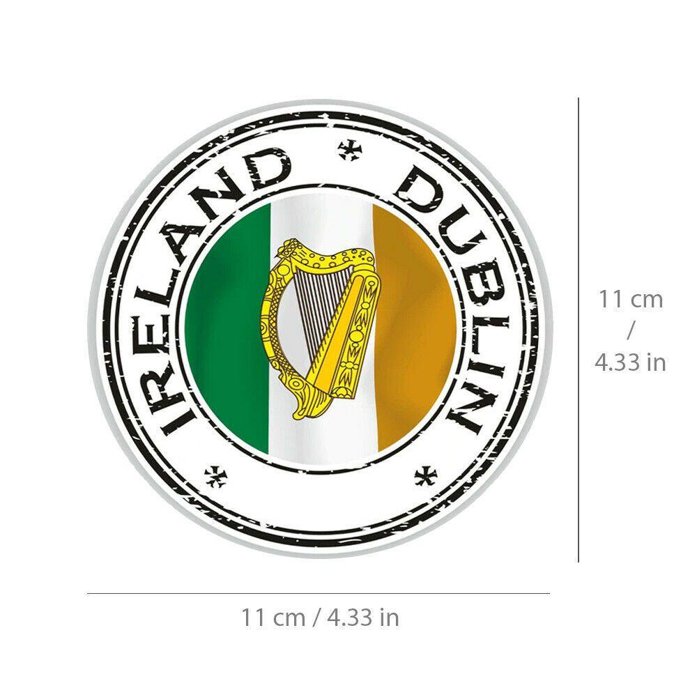 Ireland Dublin Sticker Irish Flag Vinyl Decal For Car Bike Travel Bag Laptop Unbranded In 2020 Irish Flag Vinyl Decals Bike Travel Bag [ 1000 x 1000 Pixel ]