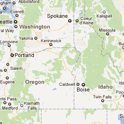 Interactive Ghost Town Map - SO neat! Ghost towns pinned onto a ...