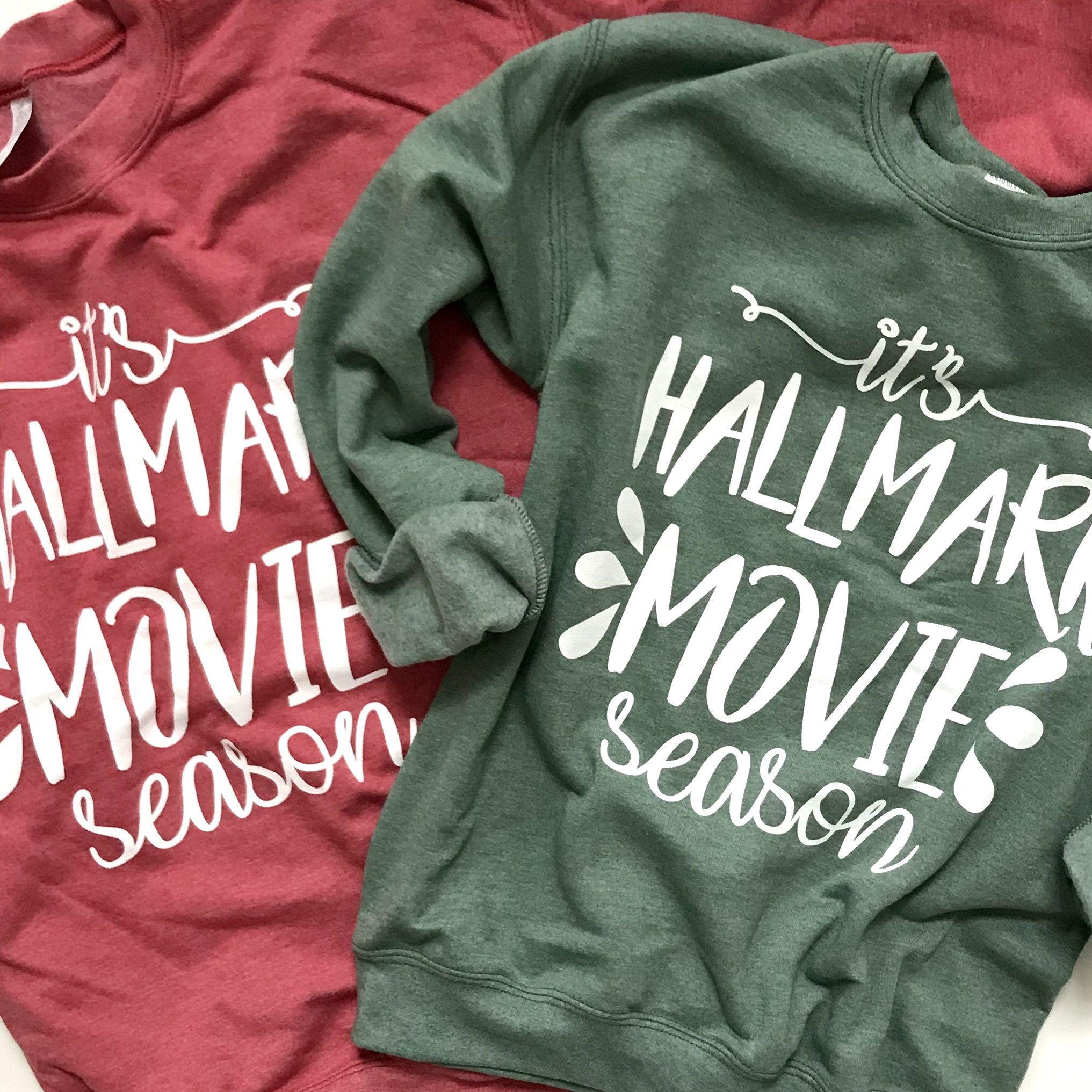 Flovey Womens This is My Christmas Movies Watching Shirt Zip Sweatshirt Fall Shirt for Women