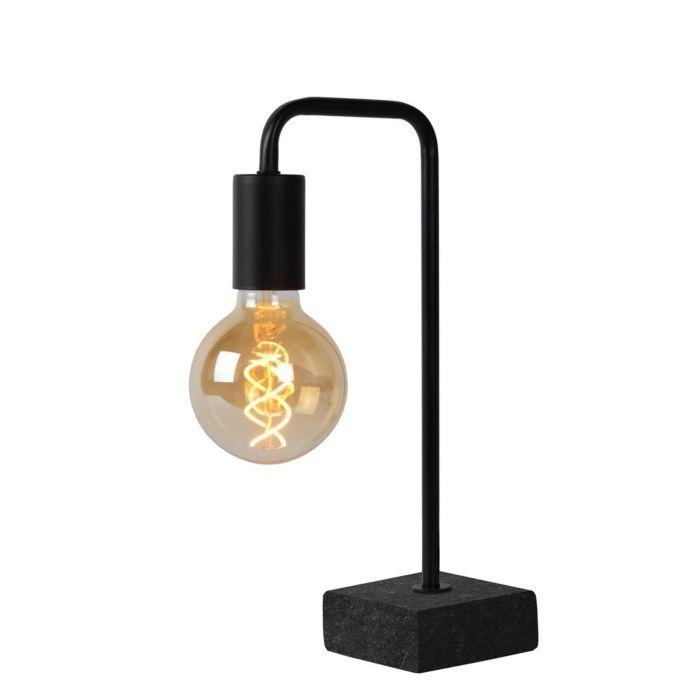 Lucide Lorin Tafellamp Zwart Tafellamp Verlichting Plafondlamp