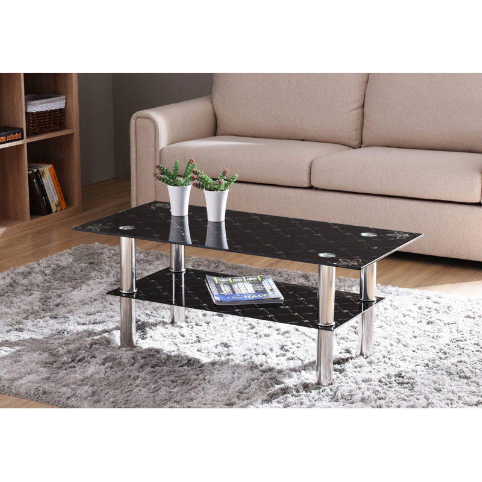 Hodedah Hict22 Rectangular Coffee Table Coffee Table Round Wood Coffee Table Black Glass Coffee Table [ 1600 x 1600 Pixel ]