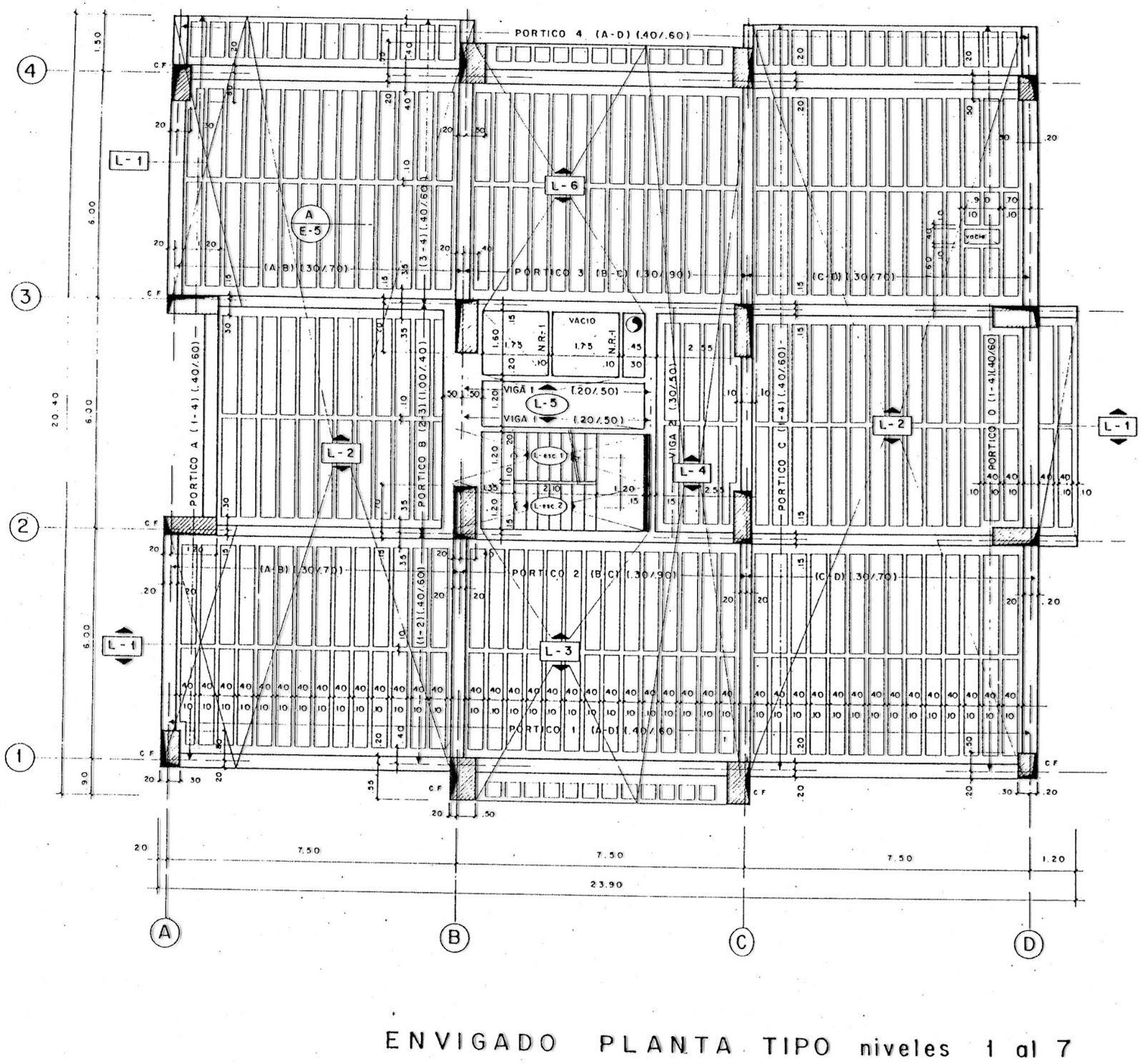 Ingenieria practica del ingeniero adolfo nasato detalles for Planos ingenieria civil