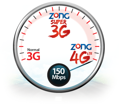 All Zong Internet Packages 3g 4g Lte Daily Weekly Monthly Rates Internet Packages 4g Internet 4g Lte