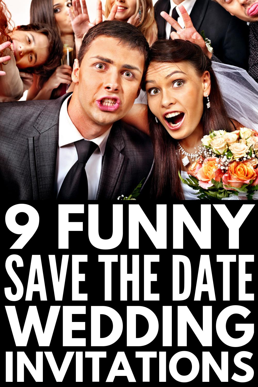 45 Unique Save the Date Wedding Invitation Ideas Funny