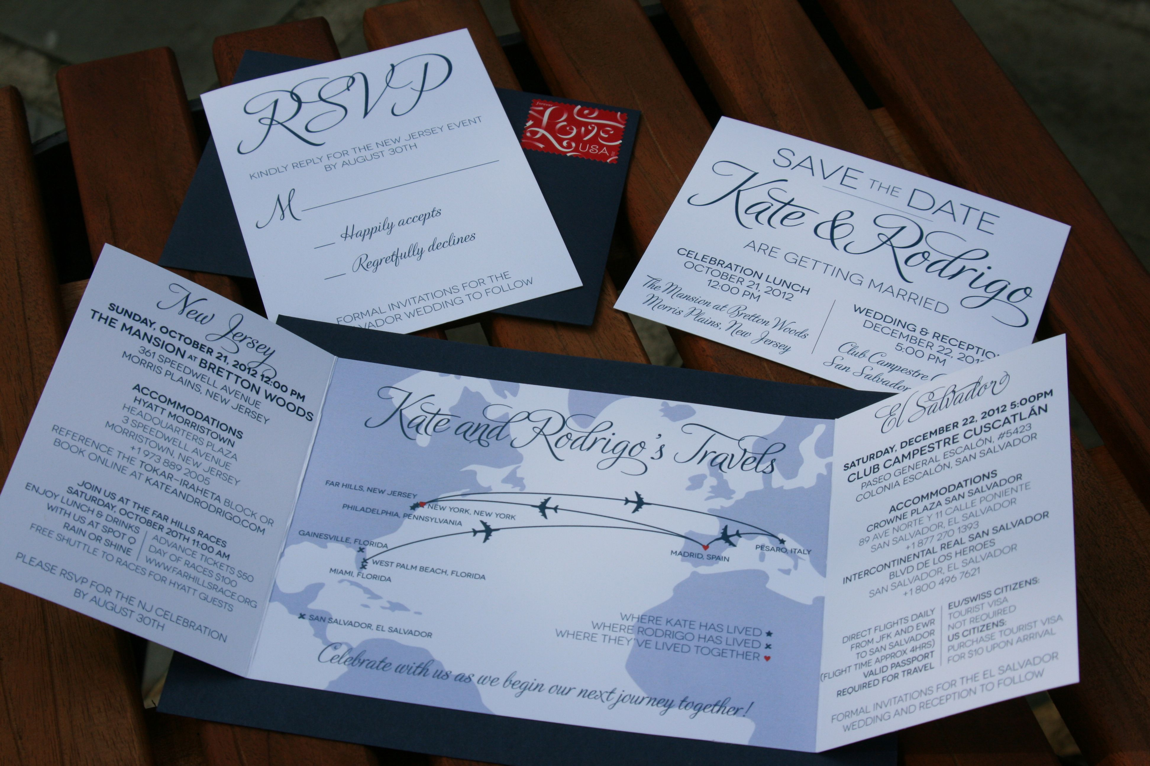 Travel Wedding Invitations Google Search