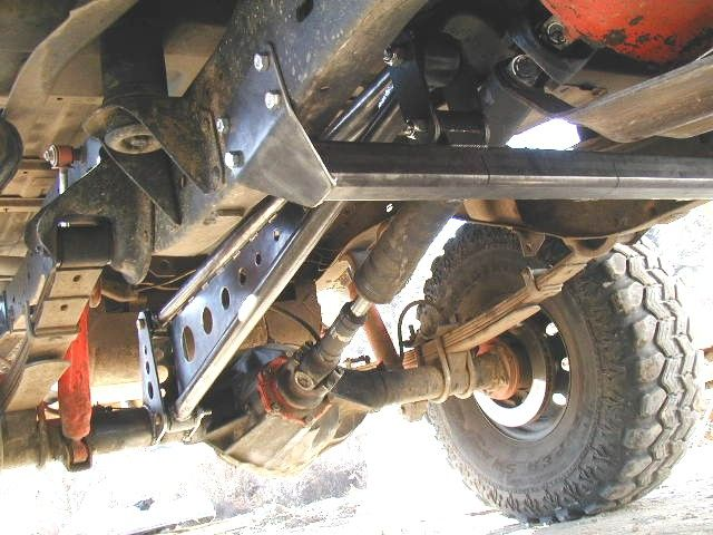 Rear Traction Bar Kit K Blazer Chevy Gm X From Ord