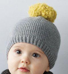 apprendre a tricoter un bonnet bebe | Bonnet tricot, Bonnet bébé, Tuto bonnet tricot
