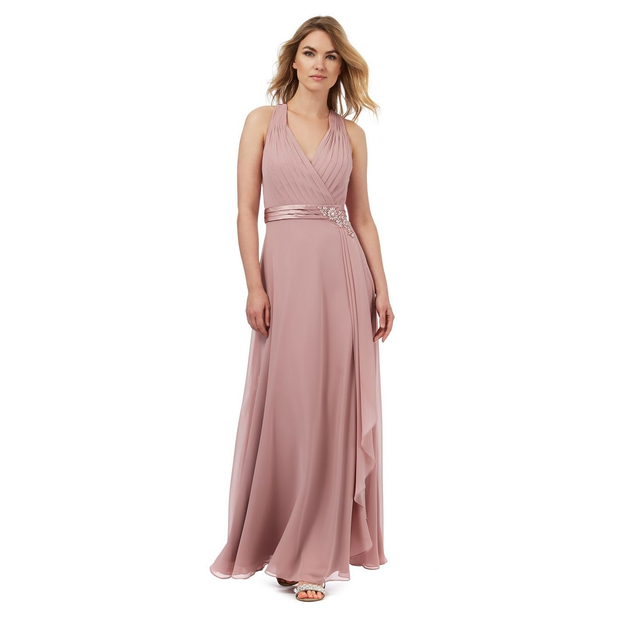 From our exclusive No. 1 by Jenny Packham range, this dress cascades ...