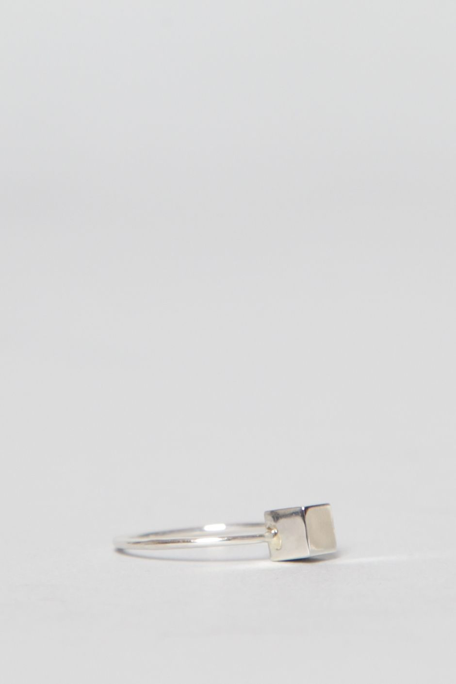 Mociun Cube Ring (Silver) | B. | Pinterest | Ss, Ring and Fashion