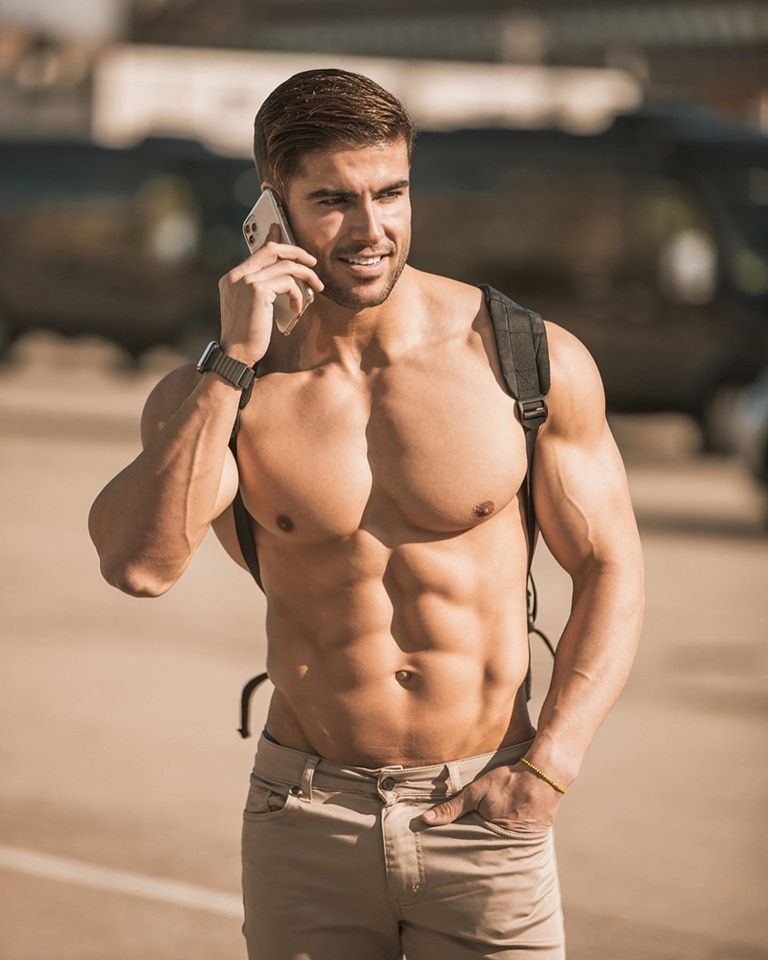 Body photo male hot Why the