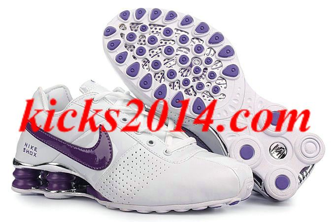 Nike Shox Deliver Womens White Purple Shoes NK-Shox M055 Online [Womens  Shoes 2014