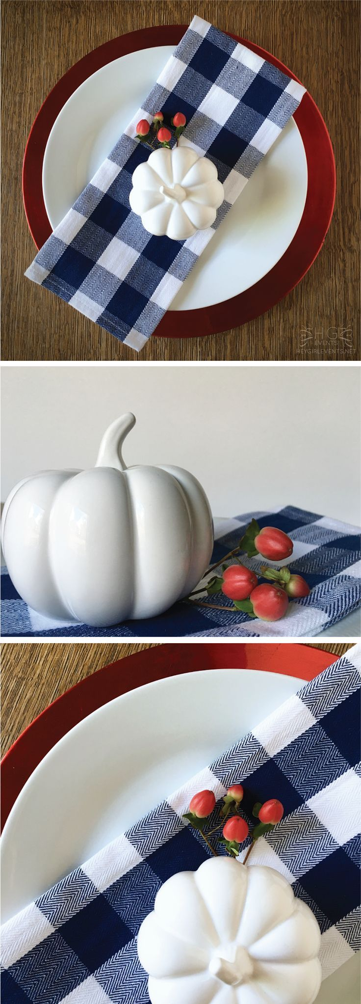 These are such great ideas for fall place settings! I love how different each one is! See more on http://ablissfulnest.com/ #fallideas #thanksgivingtabledecor #thanksgivingtableideas