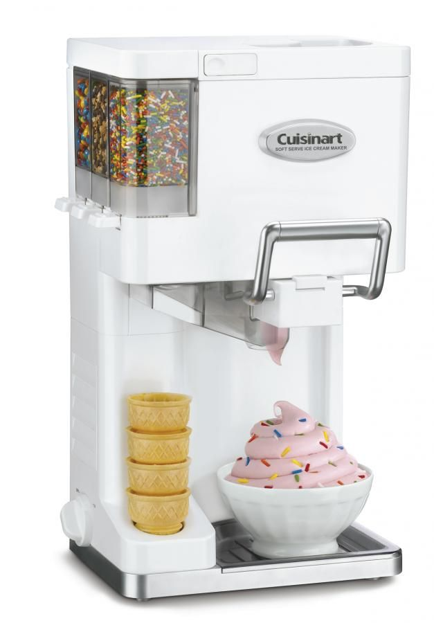 Mix It In Soft Serve Ice Cream Maker Kitchen Kuche Maker