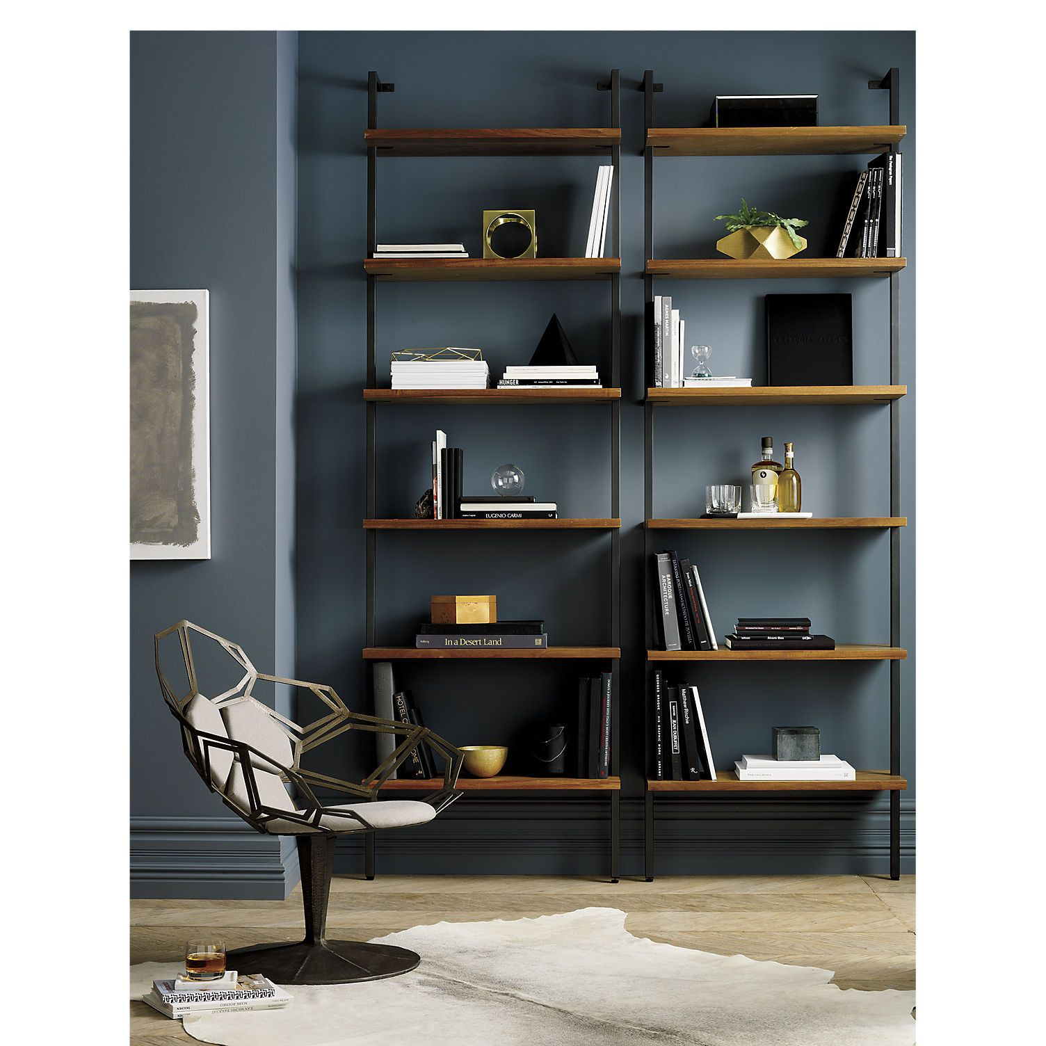 objects from of sloped bookcases house anthropologie the c and about design slanted bookcase mad