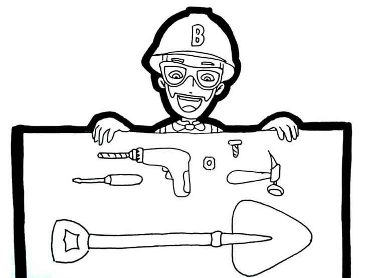 10 Best Free Printable Blippi Coloring Pages For Kids Coloring Pages Coloring Pages For Kids Animal Coloring Books